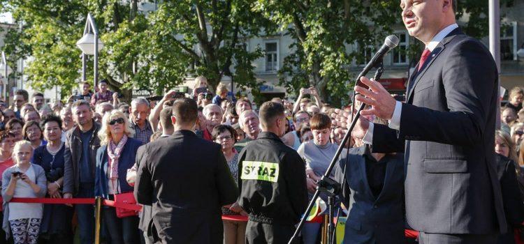 Obsługa cateringowa wizyty Prezydenta RP w Strzelcach Opolskich